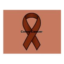 Colon Cancer Postcard