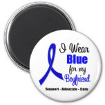 Colon Cancer Ribbon For My Boyfriend Fridge Magnet