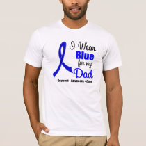 Colon Cancer Ribbon For My Dad T-Shirt