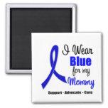 Colon Cancer Ribbon For My Mommy Fridge Magnet