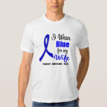 Colon Cancer Ribbon For My Wife Shirts