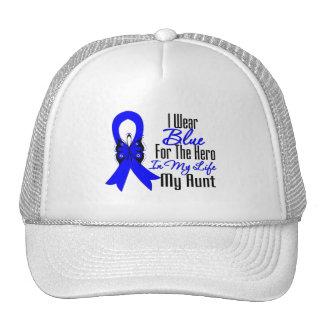 Colon Cancer Ribbon Hero My Aunt Mesh Hat