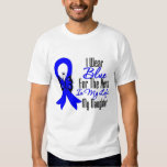 Colon Cancer Ribbon Hero My Daughter T Shirts