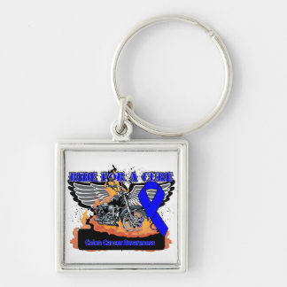 Colon Cancer Ride For a Cure Keychains