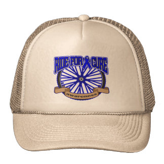 Colon Cancer Ride For Cure Trucker Hat
