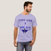 Colon Cancer Rock Star Men's Dark T-Shirt