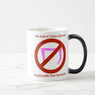 Colon Cancer Screening, coloncancerlogo Magic Mug