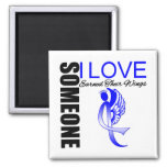 Colon Cancer Someone I Love Earned Their Wings Magnets