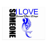 Colon Cancer Someone I Love Earned Their Wings Post Card
