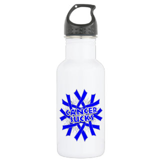 Colon Cancer Sucks 18oz Water Bottle