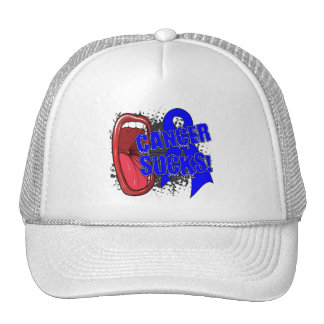 Colon Cancer Sucks Scream It Trucker Hat