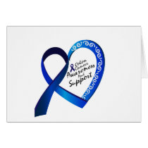 Colon Cancer Suppor Gifts Card