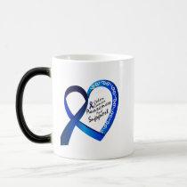 Colon Cancer Suppor Gifts Magic Mug