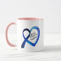 Colon Cancer Suppor Gifts Mug