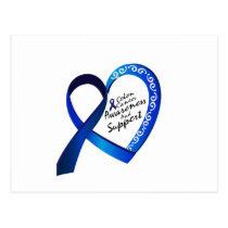 Colon Cancer Suppor Gifts Postcard