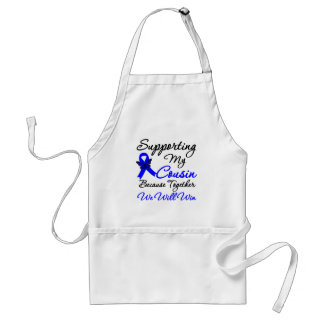 Colon Cancer Support (Cousin) Aprons