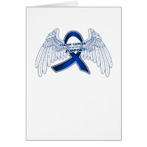 Colon Cancer Support Gifts Card