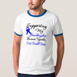 Colon Cancer Support (Granddaughter) Tee Shirt