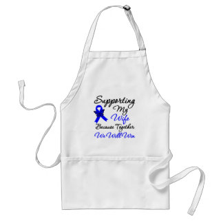 Colon Cancer Support (Wife) Apron