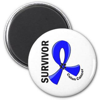Colon Cancer Survivor 12 Fridge Magnet