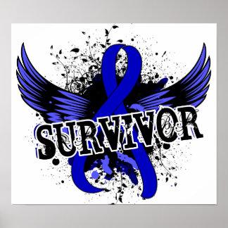 Colon Cancer Survivor 16 Posters