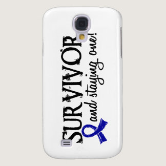 Colon Cancer Survivor 18 Samsung Galaxy S4 Case