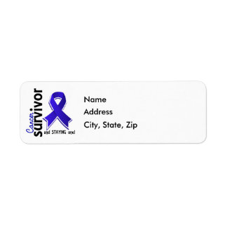 Colon Cancer Survivor 19 Label
