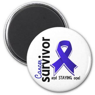 Colon Cancer Survivor 19 Fridge Magnet
