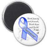 Colon Cancer Survivor 2 Inch Round Magnet