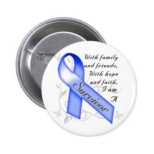 Colon Cancer Survivor Pins