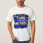 Colon Cancer Survivor Family Friends Faith T-Shirt