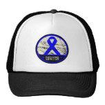 Colon Cancer Survivor Mens Vintage Mesh Hat