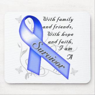 Colon Cancer Survivor Mouse Pad