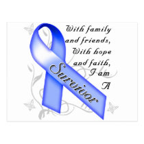 Colon Cancer Survivor Postcard