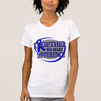 Colon Cancer Together We Make A Difference Shirt