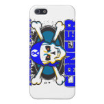 Colon Cancer Tougher Than Cancer Skull Cover For iPhone 5