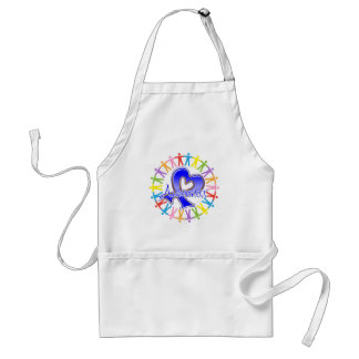 Colon Cancer Unite in Awareness Adult Apron