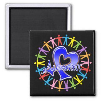 Colon Cancer Unite in Awareness Fridge Magnet