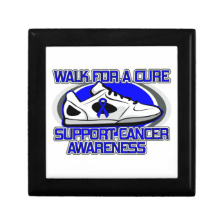 Colon Cancer Walk For A Cure Jewelry Boxes