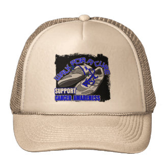 Colon Cancer Walk For A Cure Shoes Hat