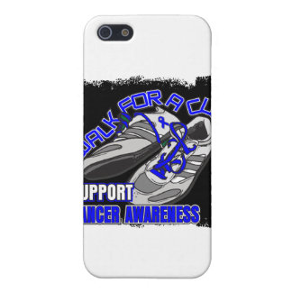 Colon Cancer Walk For A Cure Shoes iPhone 5 Covers