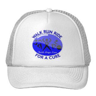 Colon Cancer Walk Run Ride For A Cure Trucker Hat