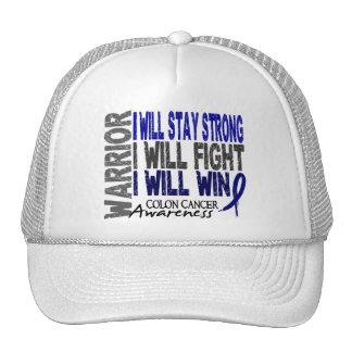 Colon Cancer Warrior Mesh Hat