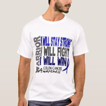 Colon Cancer Warrior T-Shirt