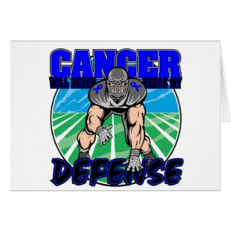 Colon Cancer Will Never Break My Defense Card