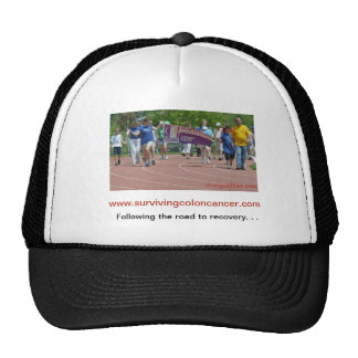 Colon Cancer With Walkathon Image Trucker Hat