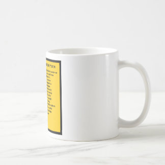 Colon Classification System by Letter Mugs