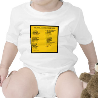 Colon Classification System by Letter Baby Creeper
