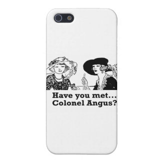 Colonel Angus iPhone 5 Cover