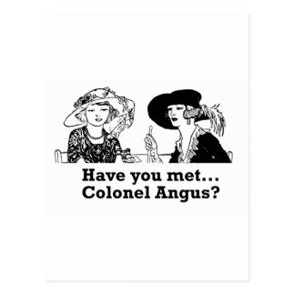 Colonel Angus Postcard